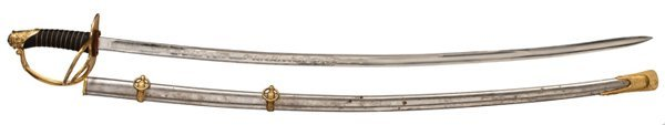 20: M1872 Cavalry Officer's Saber Used by General Thoma