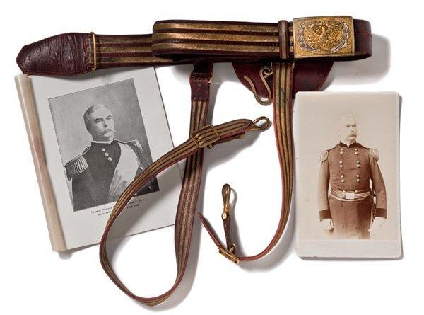 21: Post 1874 General Officer's Dress Sword Belt Belong