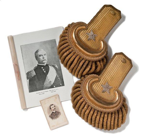 24: Brigadier General Thomas H. Ruger's Dress Epaulets,