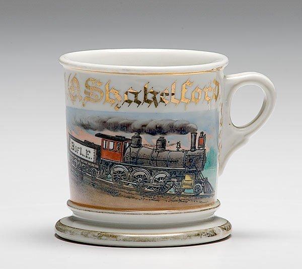 6: Fine B. of L.E. Railroad Engineer's Occupational Sha
