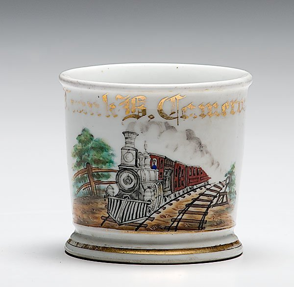 16: Train Engineer's Occupational Shaving Mug,