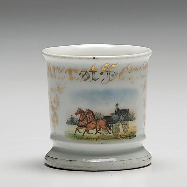 22: Horse-Drawn Buggy Occupational Shaving Mug,