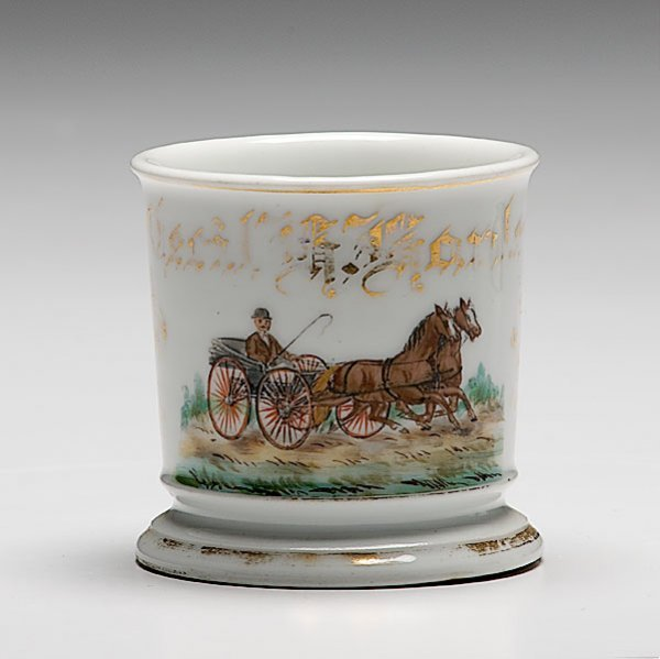 24: Horse-Drawn Buggy Occupational Shaving Mug,