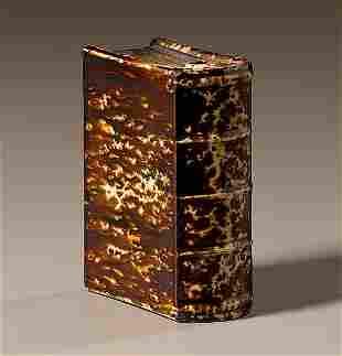 """Bennington Pint Book Flask """"Departed Spirits"""","""