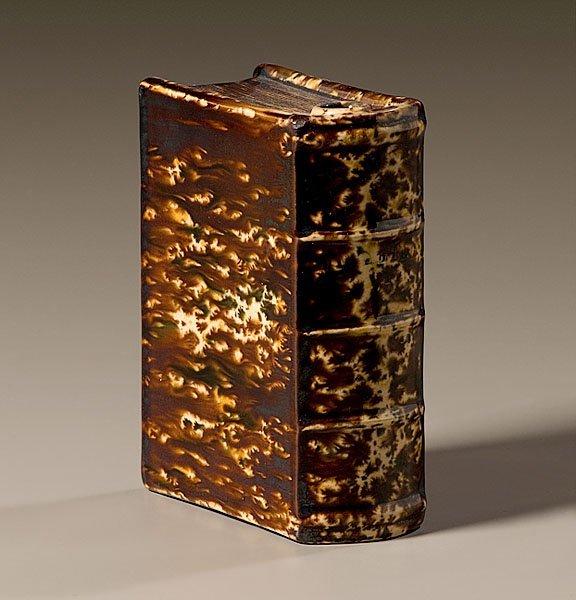 """15: Bennington Pint Book Flask """"Departed Spirits"""","""