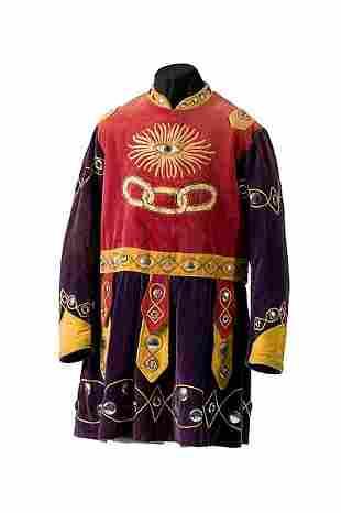 Odd Fellows Jonathan Coat Costume,