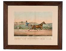 440 Large Folio Currier  Ives Lithograph The Celebr