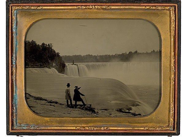 7: Niagara Falls, Full Plate Ambrotype,