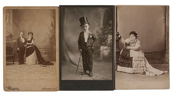 13: 33 Cabinet Cards and Postcards of Special People,
