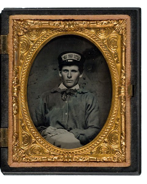 17: Stephen Douglas Little Giant Club Ambrotype,