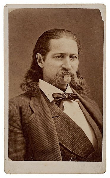719: Rare Wild Bill Hickok CDV by D.D. Dare, Cheyenne,