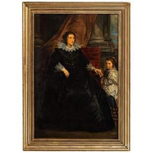 After Anthony Van Dyck (Flemish)