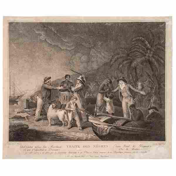 "[SLAVERY & ABOLITION]. ROLLET, ""Citoyenne,"" engraver,"
