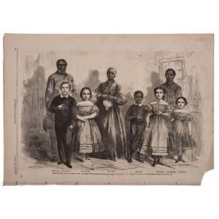 [SLAVERY & ABOLITION]. Civil War ephemera referencing
