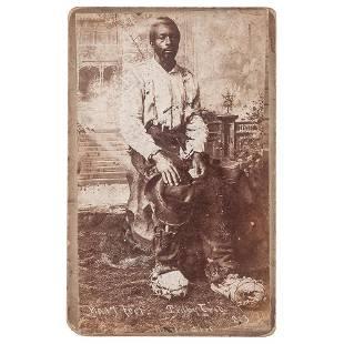 [SLAVERY & ABOLITION]. RUSSEL BROS., photographers.