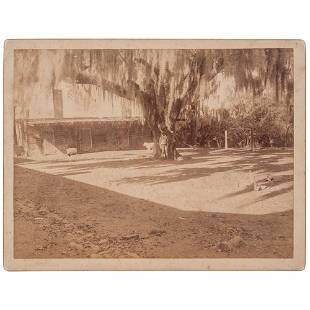 [SLAVERY & ABOLITION]. A group of 9 photographs of the