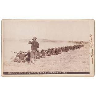 [BUFFALO SOLDIERS]. MILLER, Andrew, photographer.