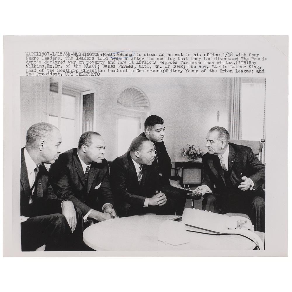 [KING, Martin Luther, Jr. (1929-1968)]. Press