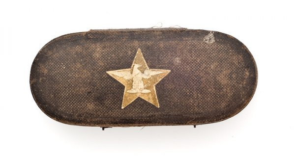 9: Pre-Civil War Box For U.S. Colonel's Shoulder Boards