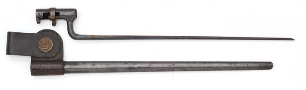 17: Trapdoor Bayonet and Scabbard.