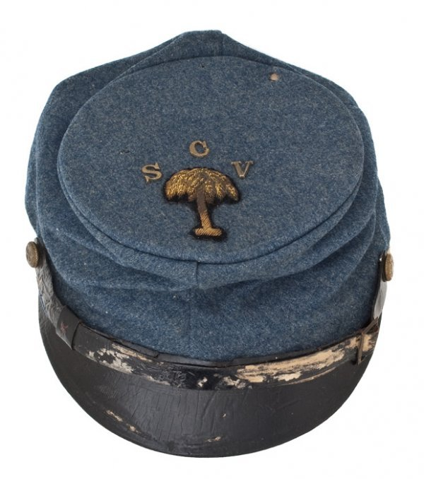 18: Indian War Era South Carolina Volunteer Wool Kepi I