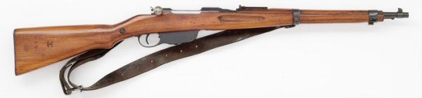 51: Steyr Mannlicher Model 95/30 Carbine,