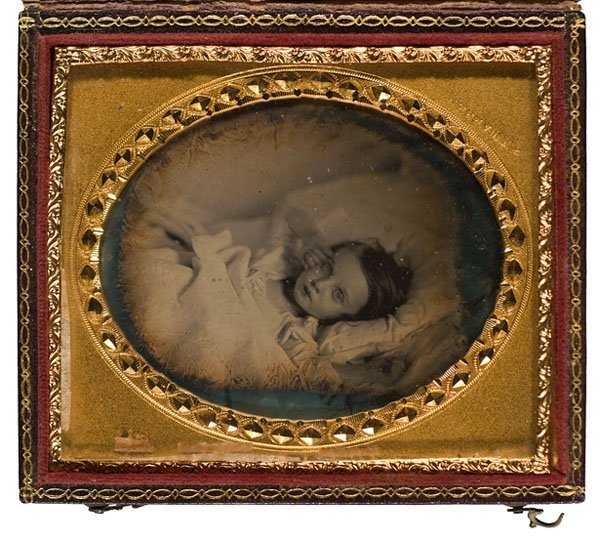 525: Daguerreotype by Henry Franklin Warren with Unusua
