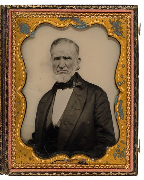530: Jabez Holmes, Revolutionary War Veteran, Ambrotype