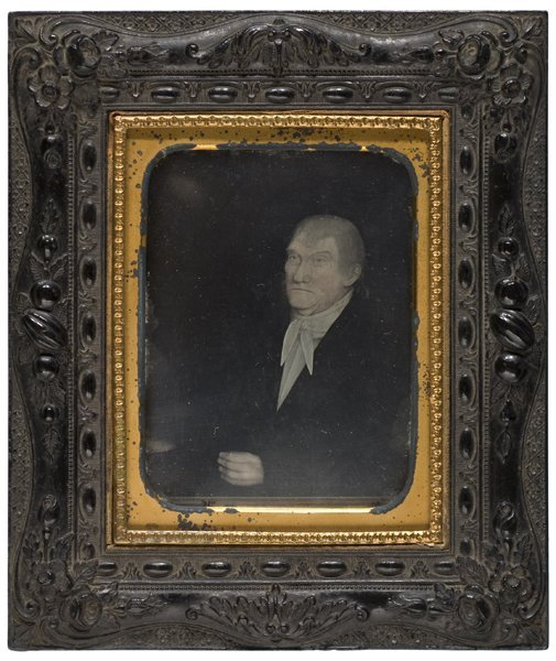 531: Quarter Plate Daguerreotype of a Portrait by Sheld