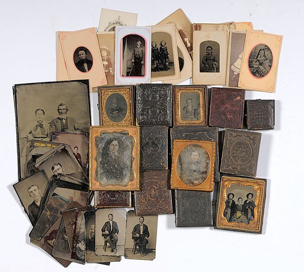 540: Collection of Daguerreotypes, Ambrotypes, Tintypes