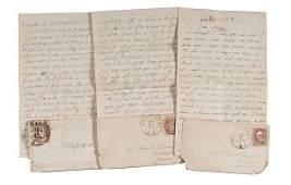 729: Civil War Letters of J.B. Lyman, Co. H., 1st Mass.