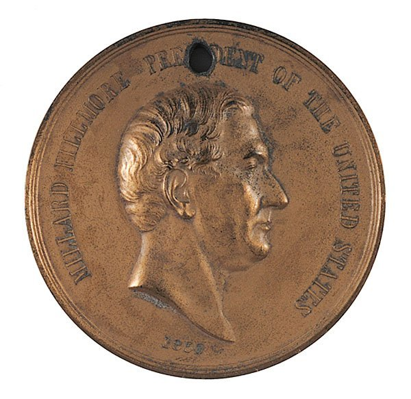 935: Millard Fillmore American Indian Peace Medal,