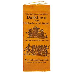 [AFRICAN AMERICANA]. Darktown Fire Brigade and Band