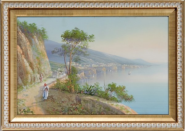 5: Pair of Italian Landscapes by Maria Gianni (Italian
