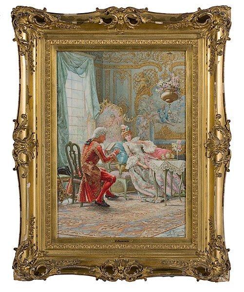 6: Afternoon Reading by Roberto Raimondi (Italian, 1877