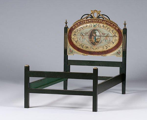 22: Italian Polychromed Bed,