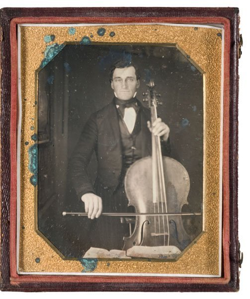 10: Daniel Kent and His Church Bass, Quarter Plate Dag