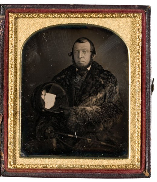 13: Sixth Plate Daguerreotype of a Messenger