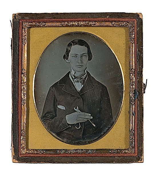 16: Sixth Plate Daguerreotype of a Young Dentist