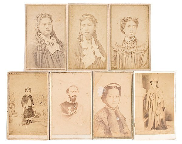 22: Hawaiian Queen Emma's CDV Collection