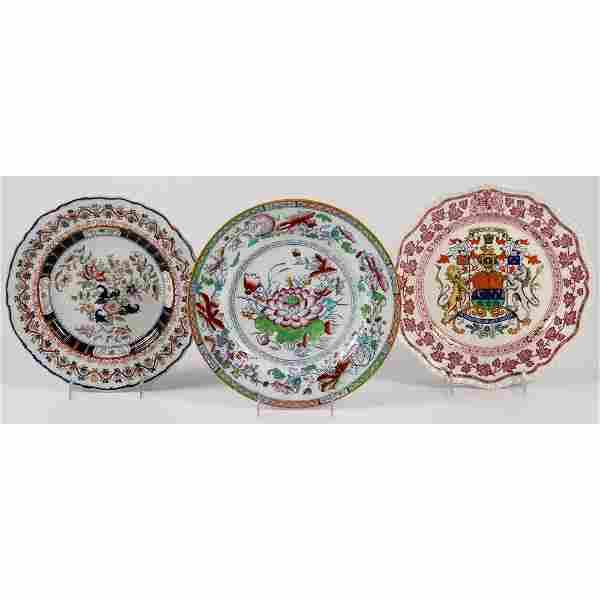 A Group of English Ironstone and Other Ceramics