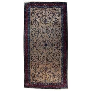 A Room Sized Sarouk Rug