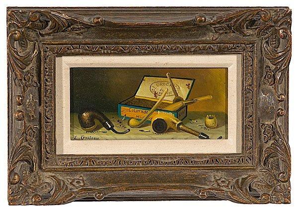 2: Trompe L'oeil by L. Ganieau (XIX-XX)