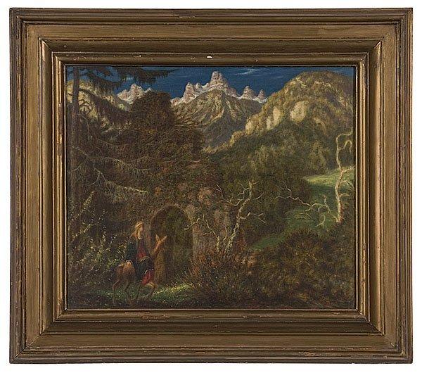 8: Georg Ort (German, 1888-1958), Mystical Landscape