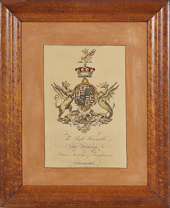 15: English Armorial Engravings