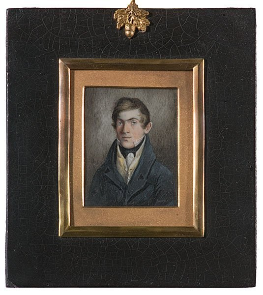 16: Miniature Portrait of Young Man