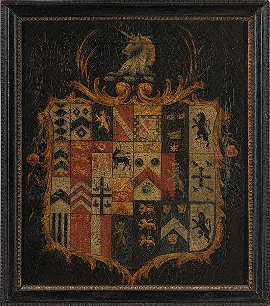 17: 19th Century English Crest