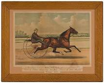 49 Colored Lithograph Currier  Ives Standardbred