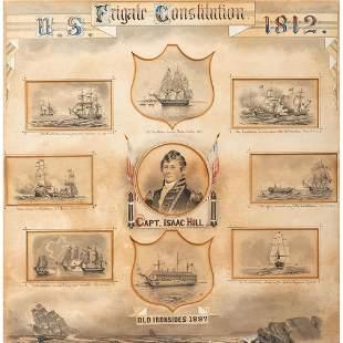 [WAR OF 1812] PEIRCE, A.B., artist. Commemorative