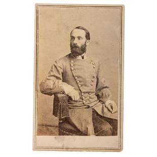 [CIVIL WAR]. CDV of CSA General Joseph Wheeler. New